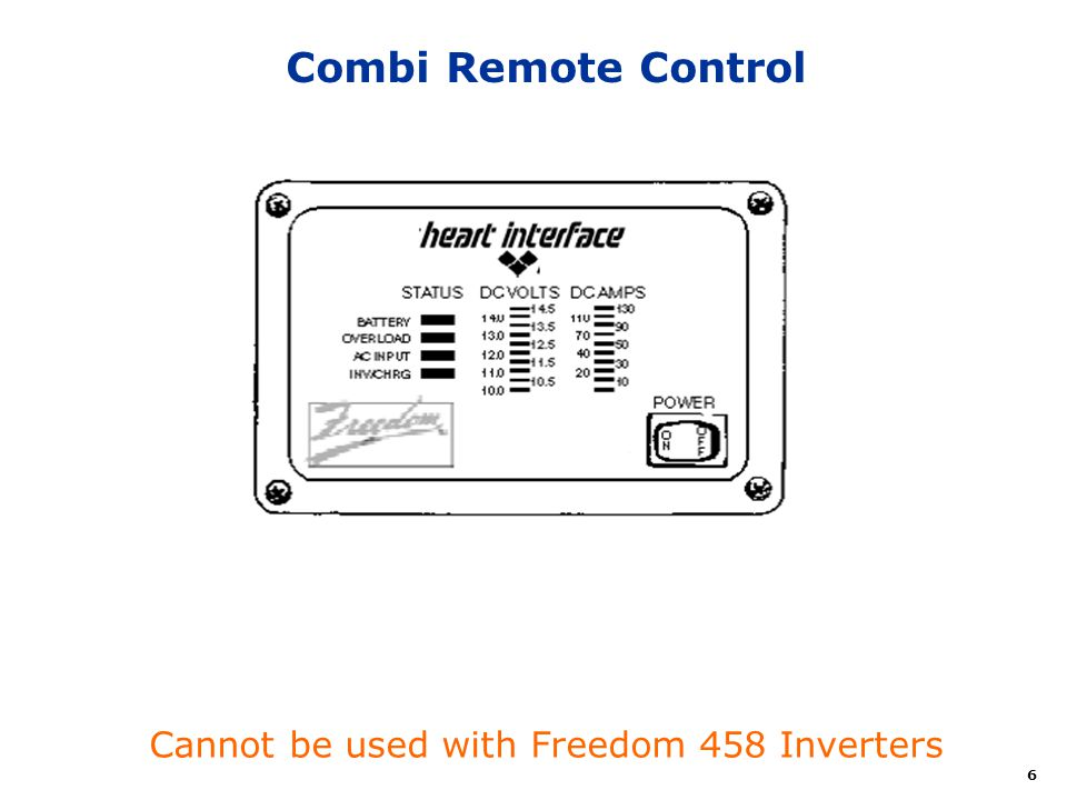 Cannot+be+used+with+Freedom+458+Inverters freedom combi inverter ppt video online download  at reclaimingppi.co