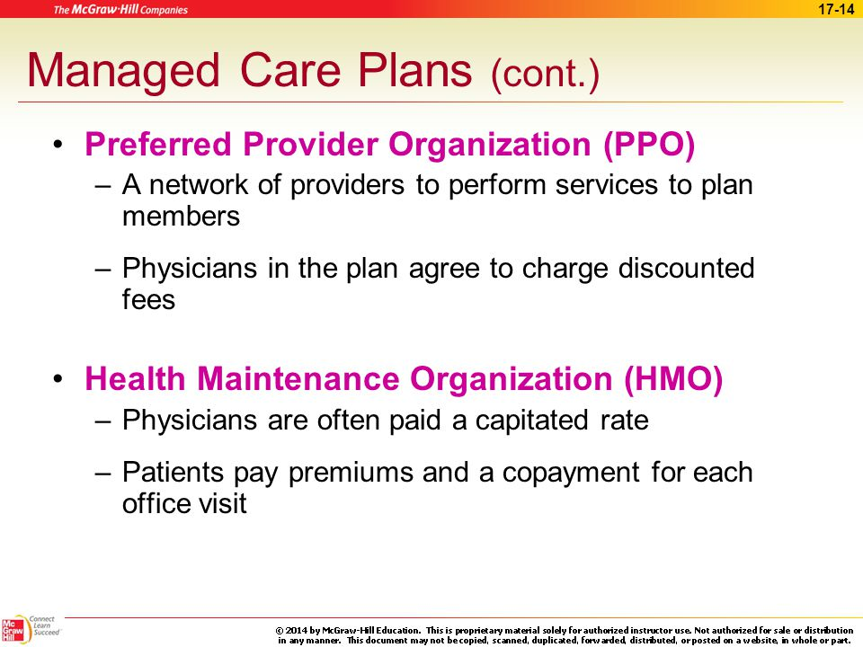preferred provider organization and primary care Preferred provider organization though its affiliation with the largest health insurer and the largest multi-specialty physician group in nevada, sierra nevada administrators (snva) has a unique advantage in its ability to provide employers with a very specialized competitive and comprehensive workers' compensation ppo network.