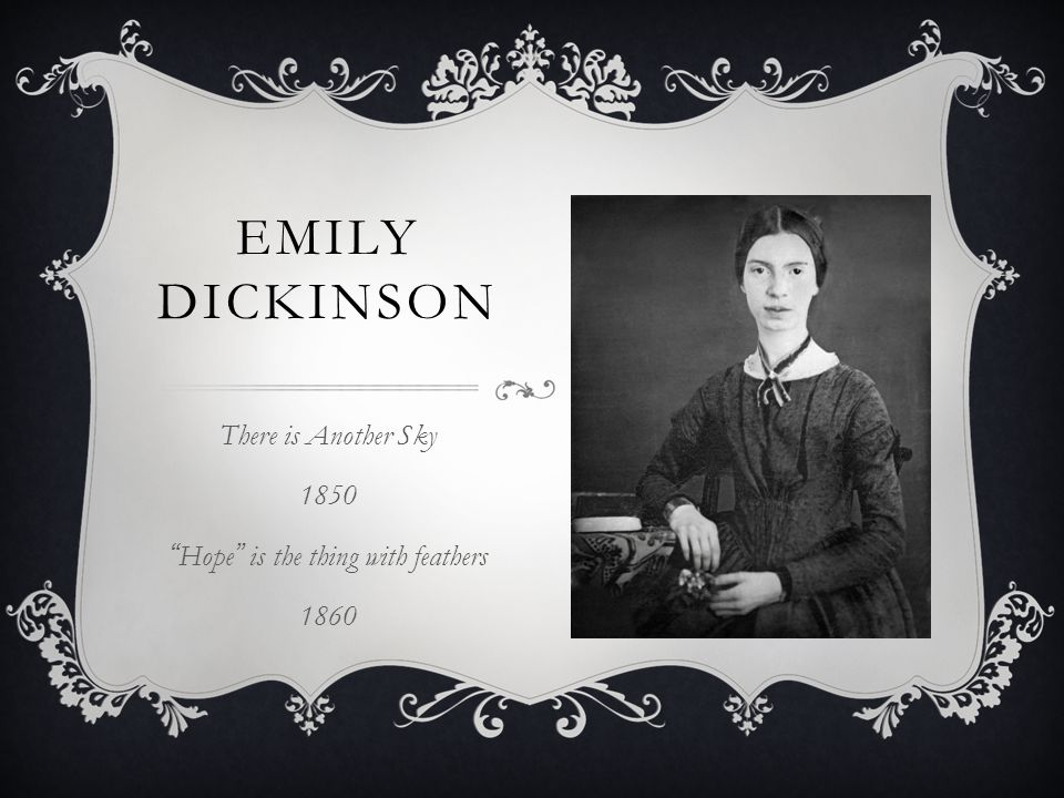 there is another sky by emily dickinson analysis