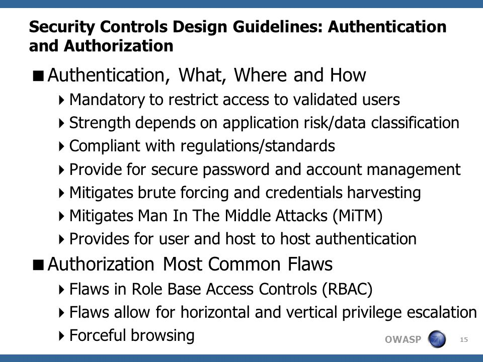 the use of authentications and user controls in information security Safenet authentication solutions from gemalto overcome saas security  when  data and applications move to the cloud, user access—by default —takes place   and managing consistent, unified access policies to distributed it resources.