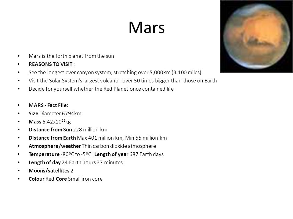 reasons to go to mars - photo #4