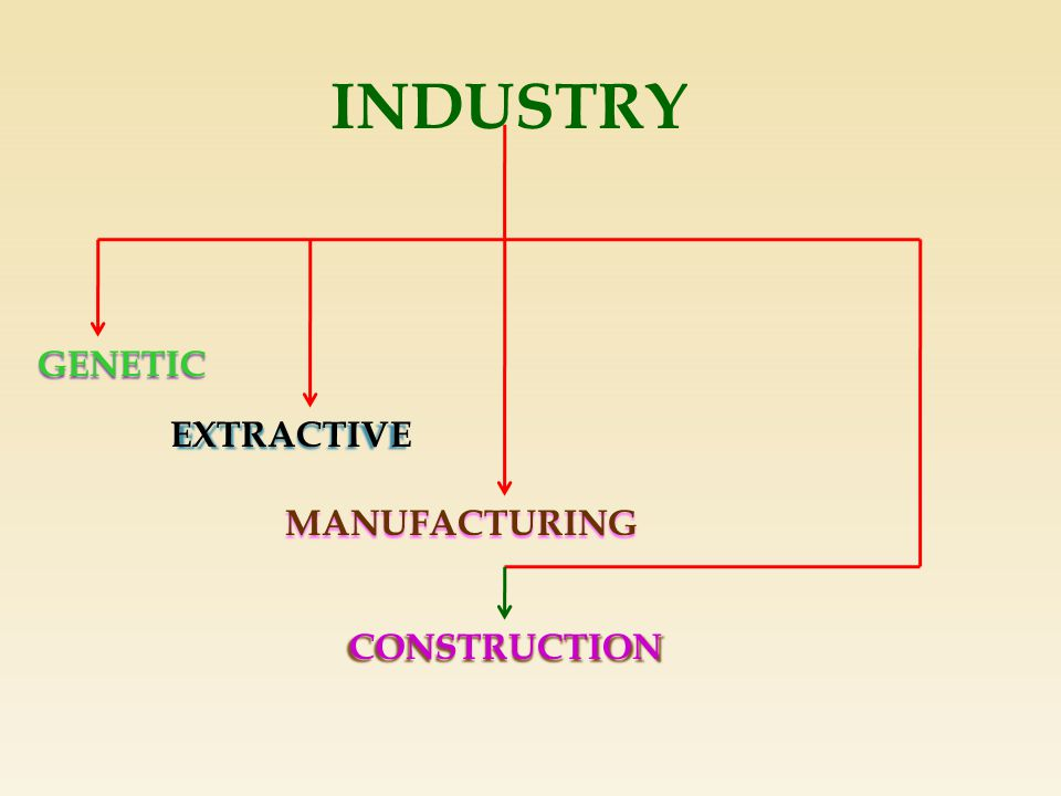 INDUSTRY GENETIC EXTRACTIVE MANUFACTURING CONSTRUCTION