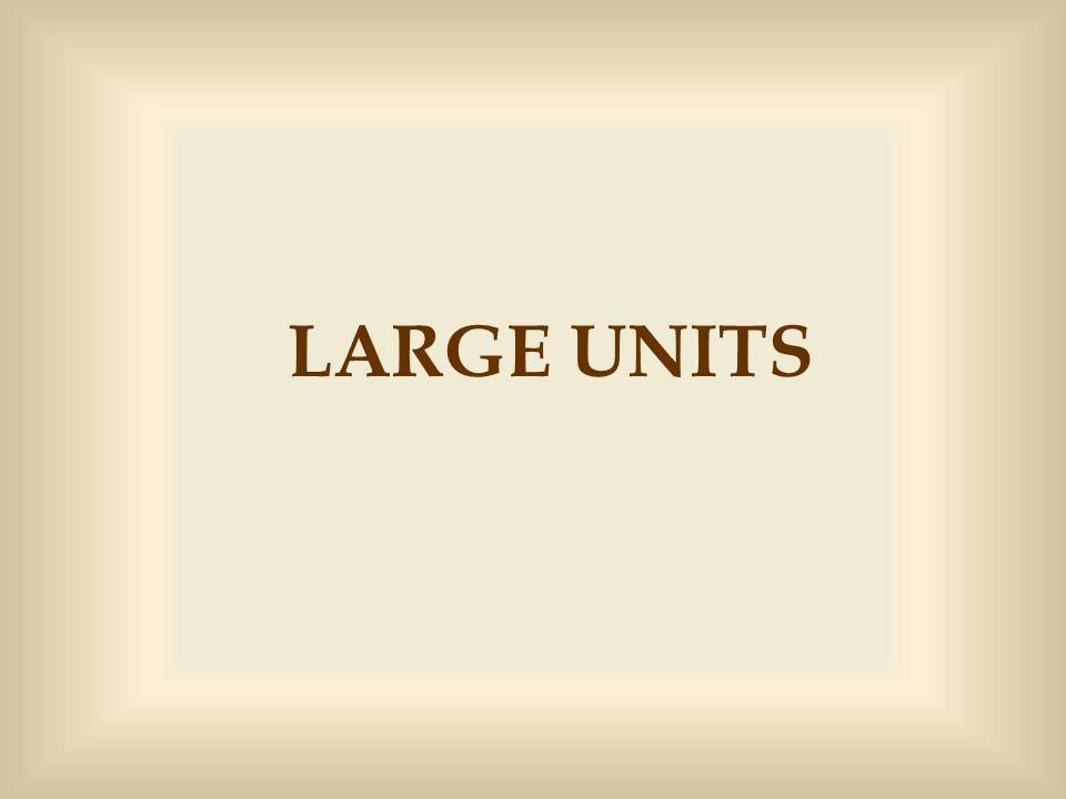 LARGE UNITS