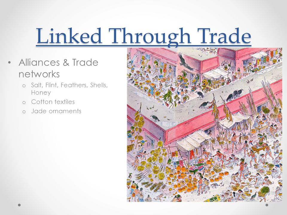 Linked Through Trade Alliances & Trade networks