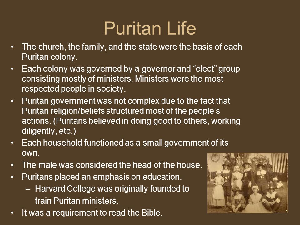 a review of the the puritans life and beliefs The puritan dilemma: the story of john winthrop (1958) (edmund s morgan 1916-) [h]e which would have suer peace and joye in christianitye, must not ayme at a condition retyred from the world and free from temptations, but to knowe that the life which is most exercised with tryalls and temptations is the sweetest, and will prove the safeste.