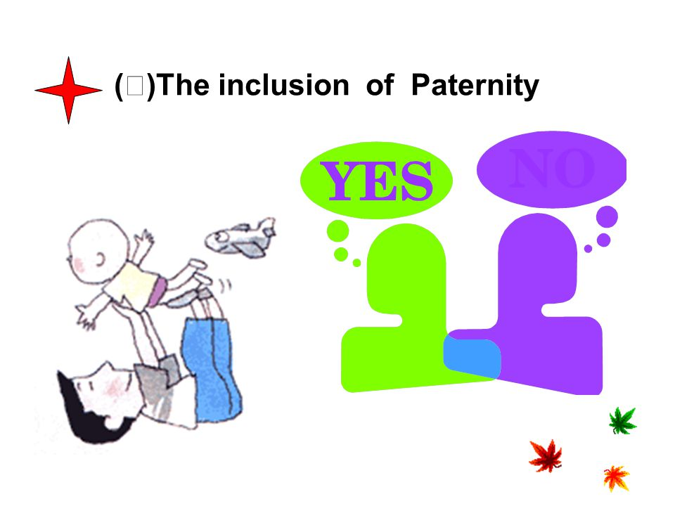 (Ⅱ)The inclusion of Paternity