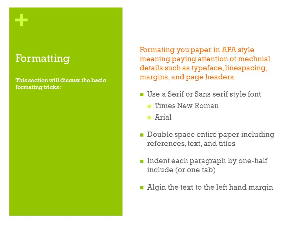 margins for apa style paper