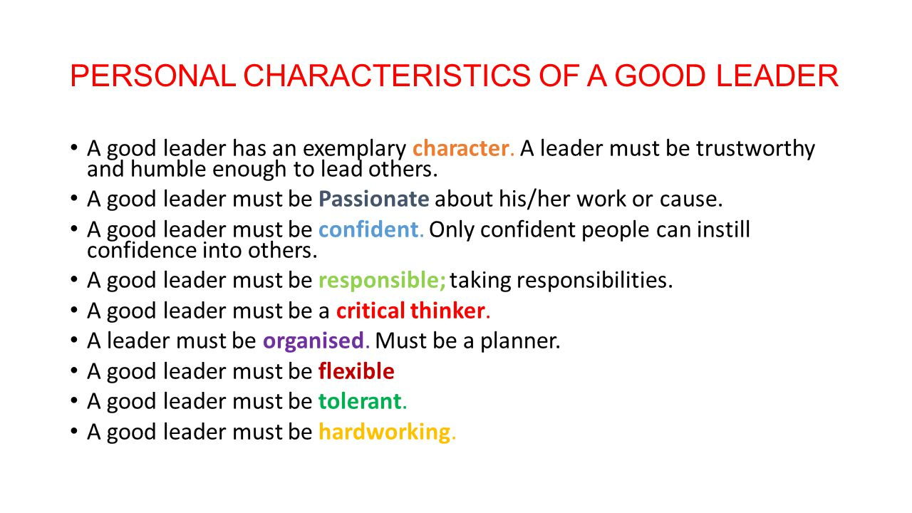 characteristic of good co worker