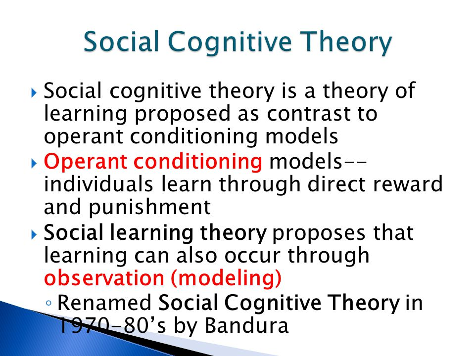 cognitive learning theory s impact on curriculu Learning theories play a significant role in curriculum development and   opportunities to practice and apply what s/he has  approaches learners acquire  cognition of what  three phases of metacognition should influence.