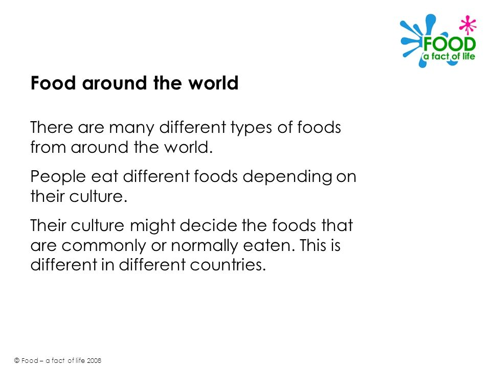 Powerpoint 150 around the world food a fact of life ppt download - Different types of cuisines in the world ...