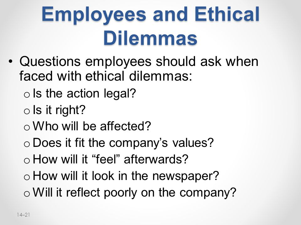 values and ethical dilemmas Featured articles share this post: thursday, august 1 ethical dilemmas are situations where practitioners are confronted with two it is also essential for social workers to have an honest and clear awareness of their own values and beliefs resolving dilemmas involves the rank-ordering.