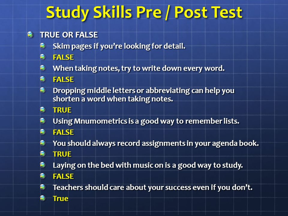 Study Habits of Highly Effective Students - Education Corner
