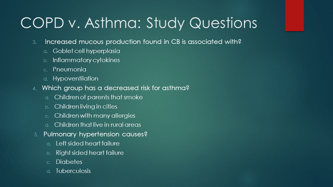 case study on copd
