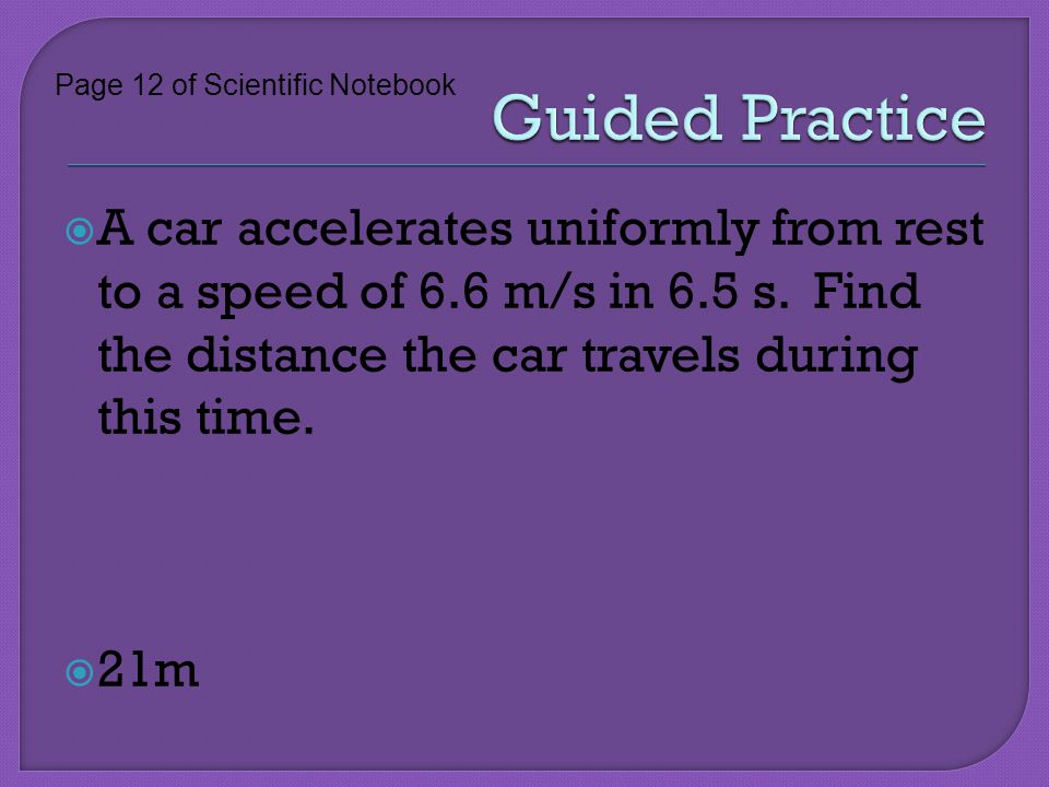 Guided Practice Page 12 of Scientific Notebook.