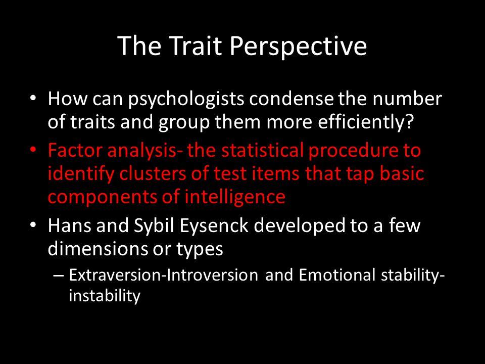 sybil analysis