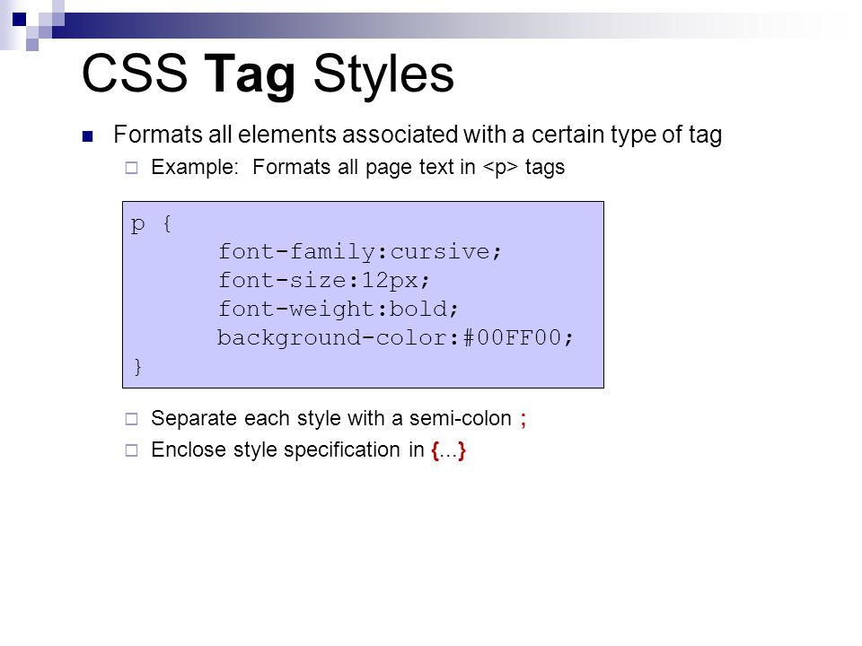 Introduction to html and css ppt download - Div tag css ...