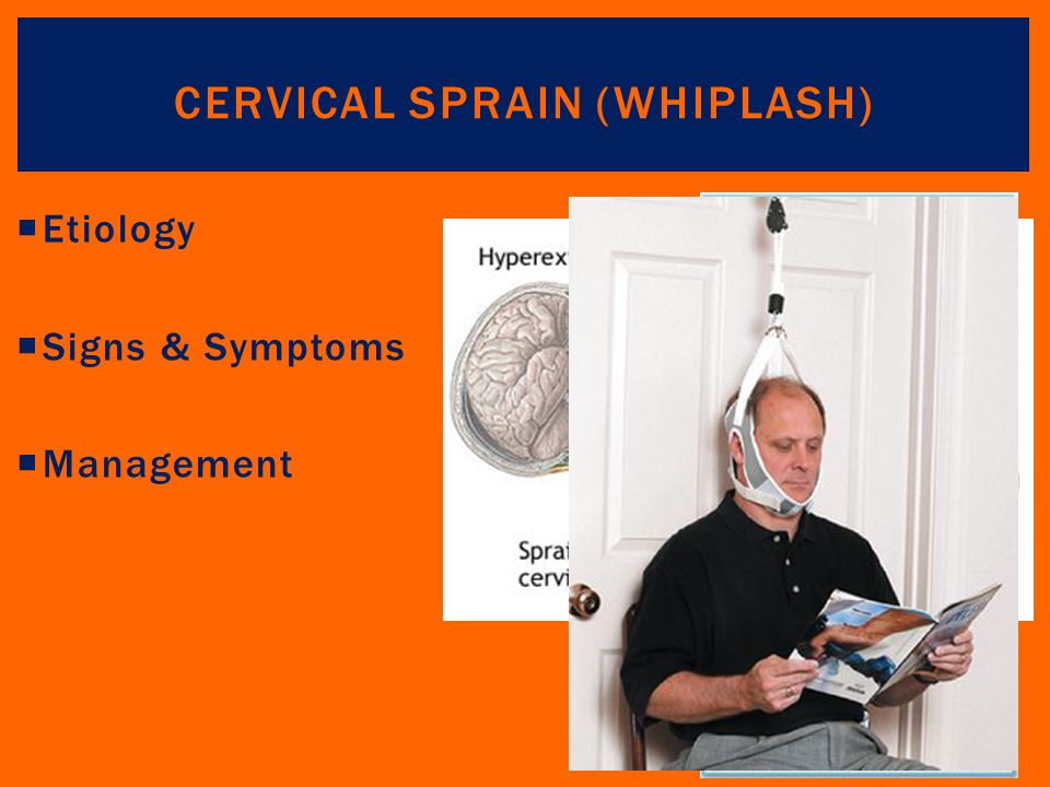 Cervical Sprain (Whiplash)