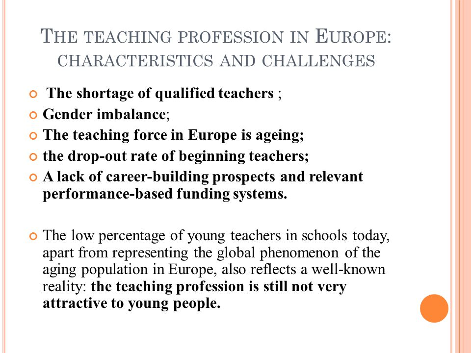CURRENT TRENDS IN TEACHER EDUCATION IN EUROPE - ppt download