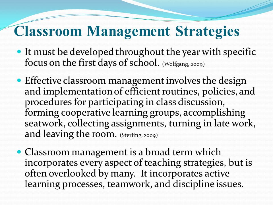 Classroom Design Strategies : Classroom management strategies discipline