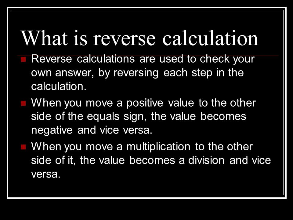 Functional skills maths using reverse calculations and rearranging formulae september kindly - Div checker tool ...