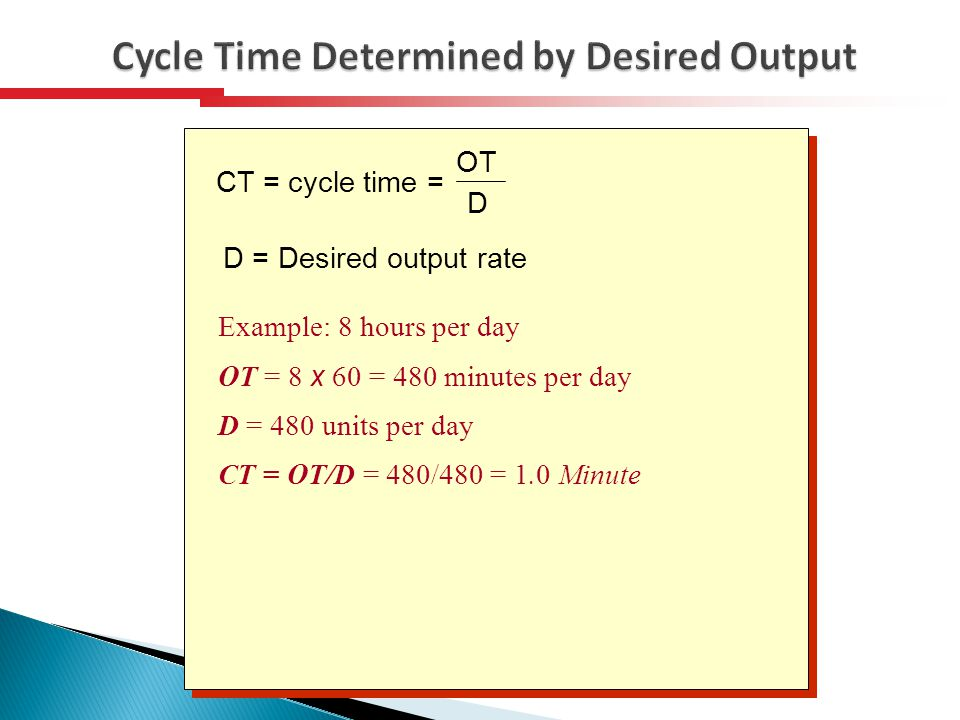 desired cycle time Total cycle time = 60/f or rr total cycle time/sum of i:e ratio parts ventilator inspiratory flow (vcv) short cut add the i:e parts and then multiply by the minute volume (you can then estimate.