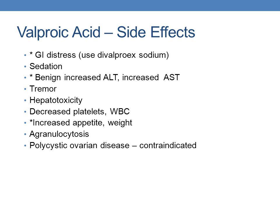 Valproic Acid Level