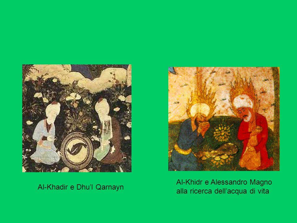 Al-Khidr e Alessandro Magno alla ricerca dell'acqua di vita