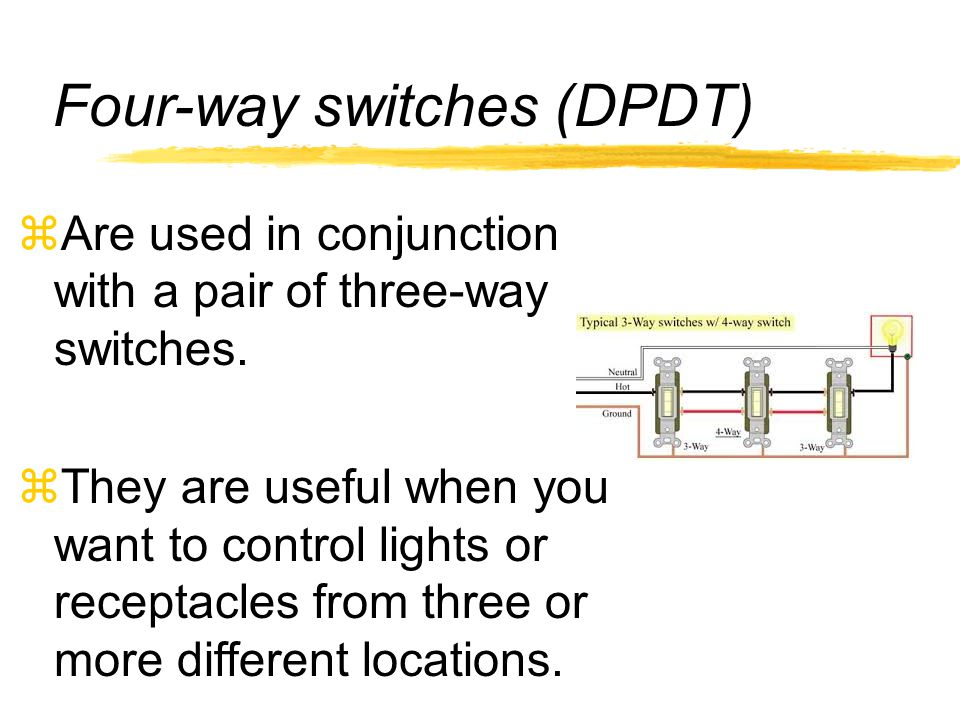 Identifying electrical tools and equipment ppt video online download on 4 way switch dpdt Rocker Switch Box SPDT Switch