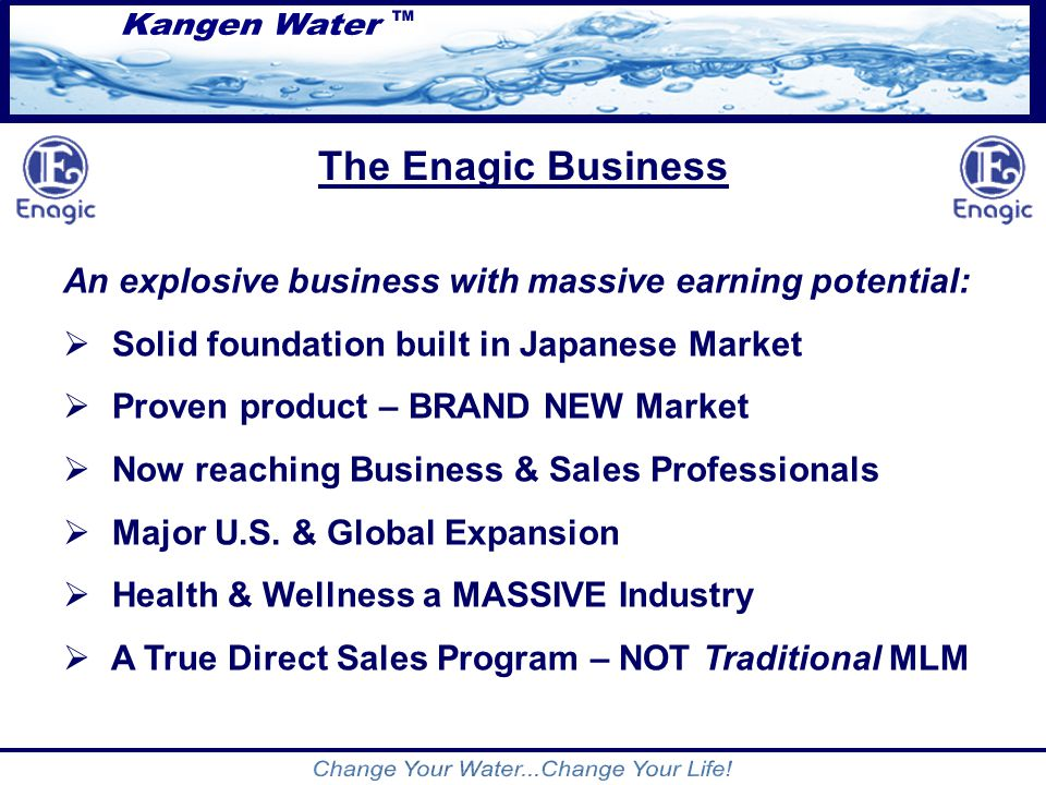 Change Your Water Change Your Life Ppt Video Online
