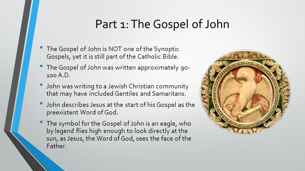 The gospel of john essay