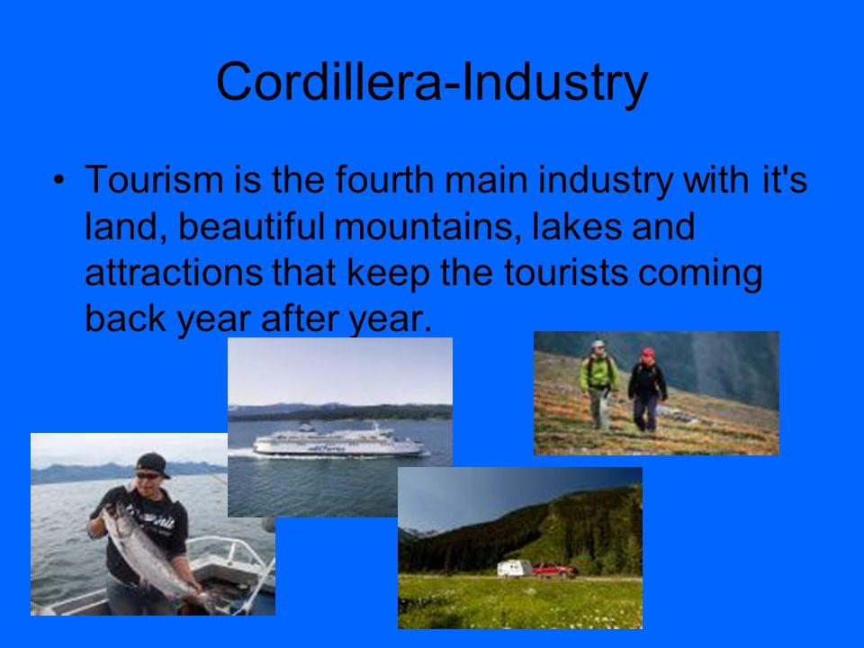 Cordillera- Location The Cordillera is located on the west