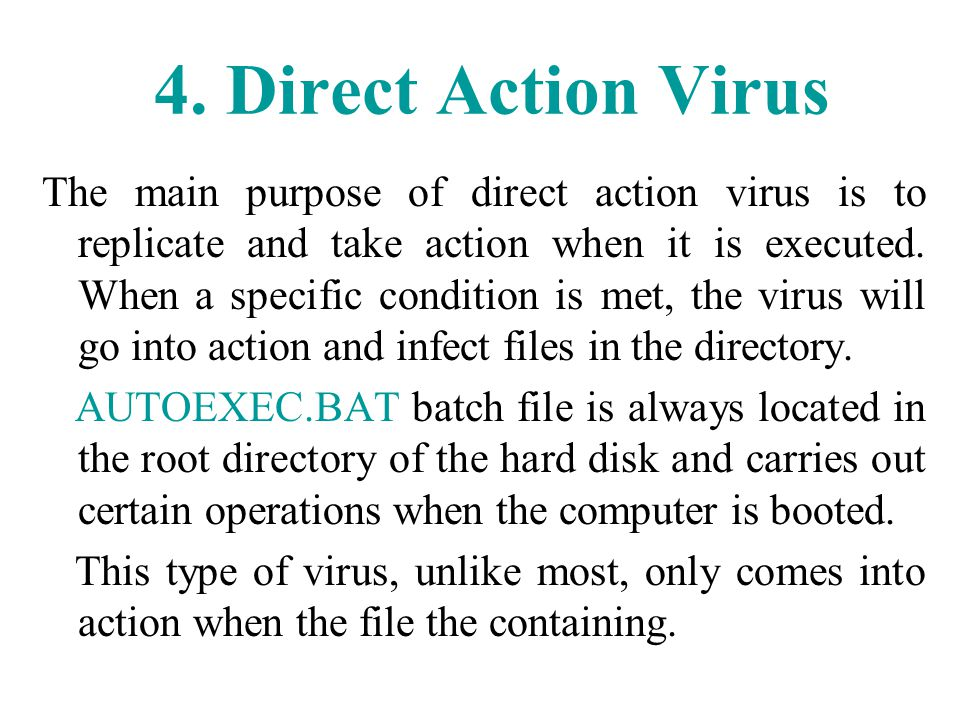 how to download a virus on purpose