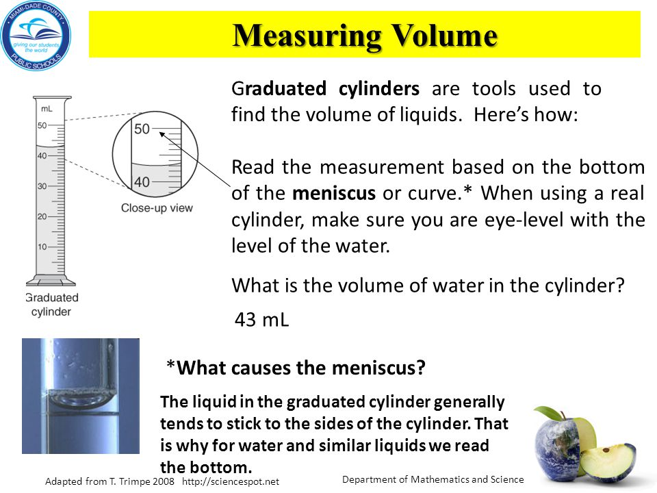 Big Volume Measuring Instruments : What tools do scientists use to measure length or distance