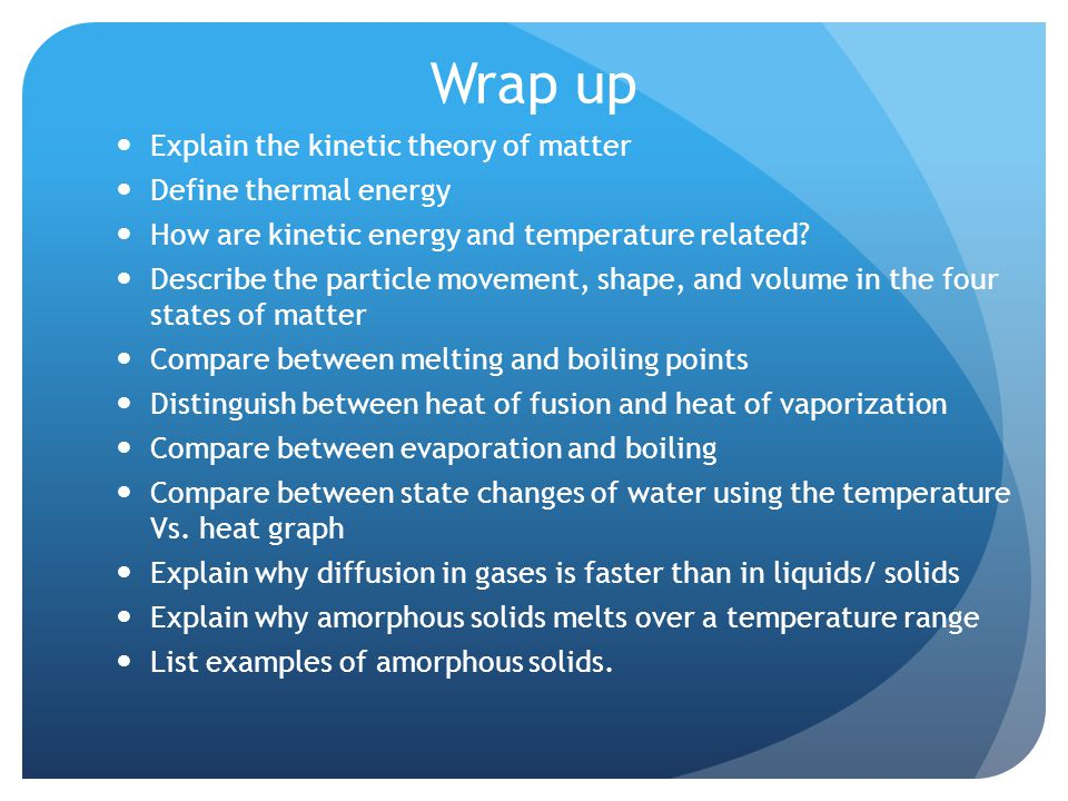 Kinetic Theory Ppt Video Online Download