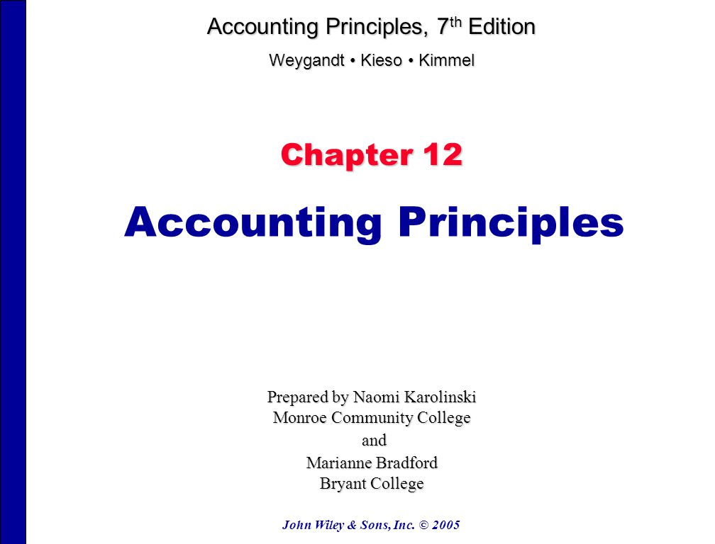 principle of accounting 1 Principles of accounting deifition identify record communicate organization, interested users financial statements stakeholders internal users.
