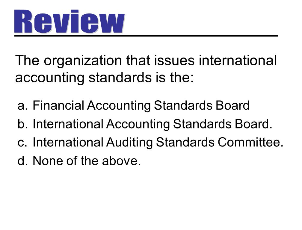 summary of the accounting standards setting International accounting standards securities and exchange commission summary: with the activities this partnership with the private sector facilitates input into the accounting standard-setting process from all stakeholders in us capital markets.