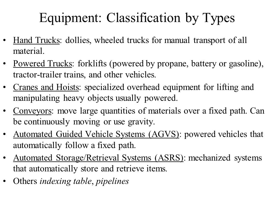 Material Handling Module7 Ppt Video Online Download