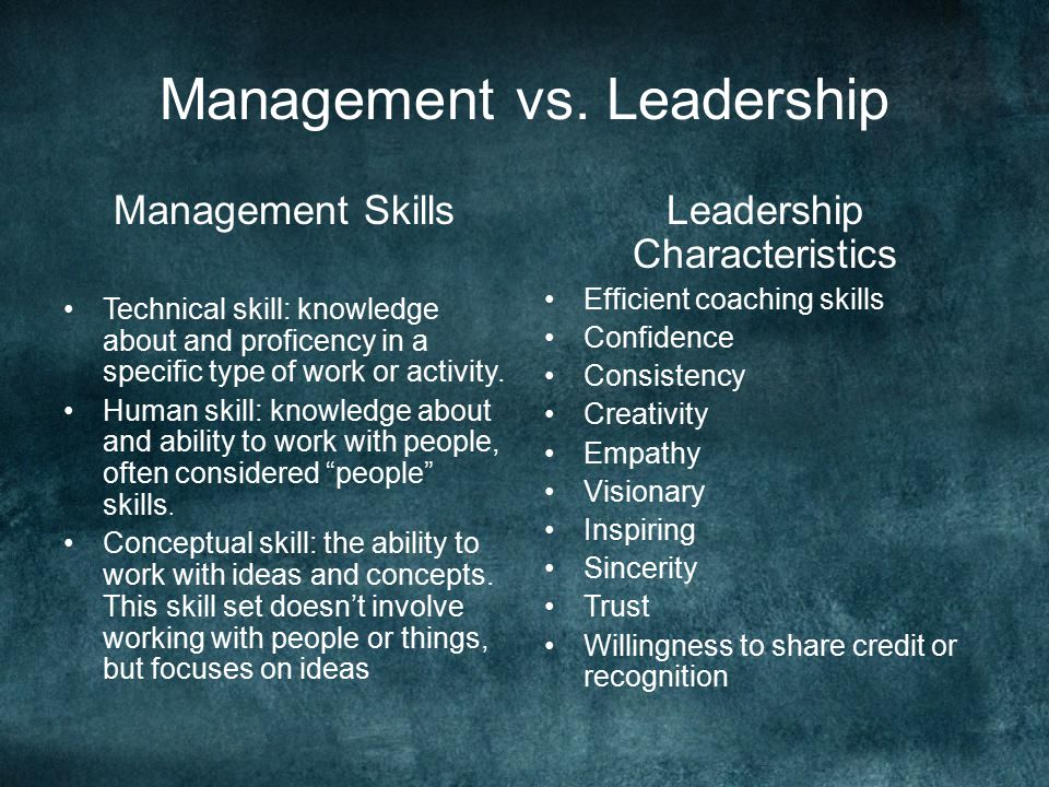 leadership vs management Is a good manager naturally a good leader what are the differences of management vs leadership do you need to be both to be successful.