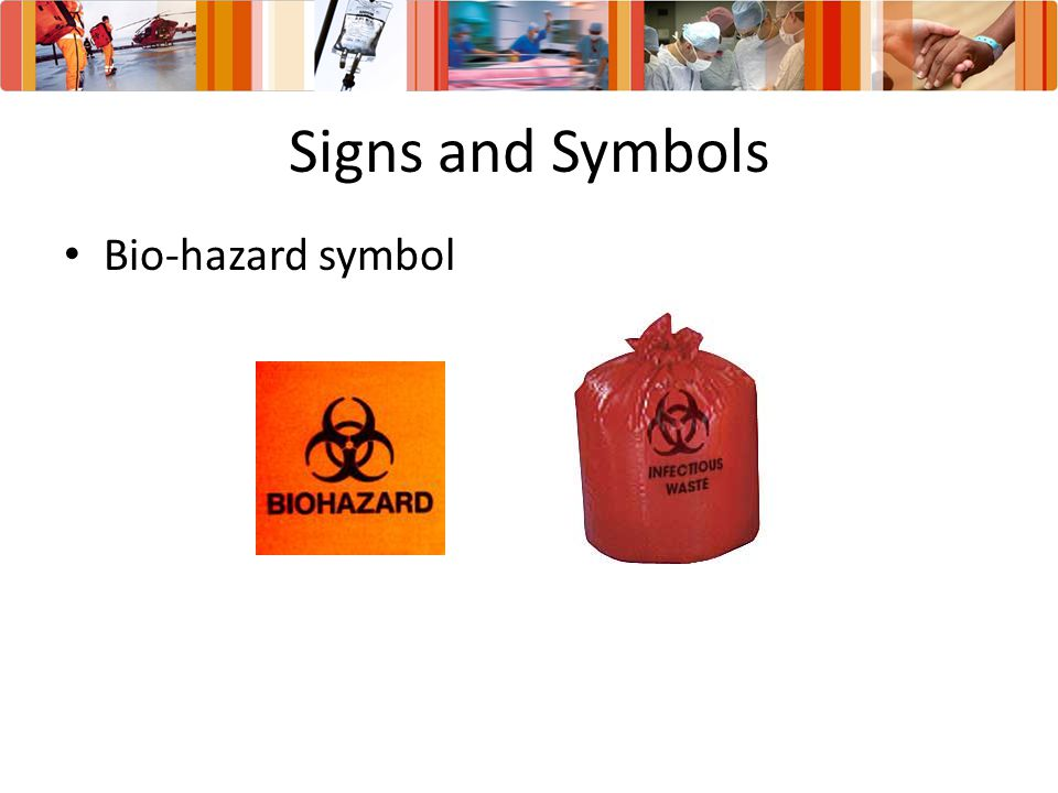 Signs and Symbols Bio-hazard symbol