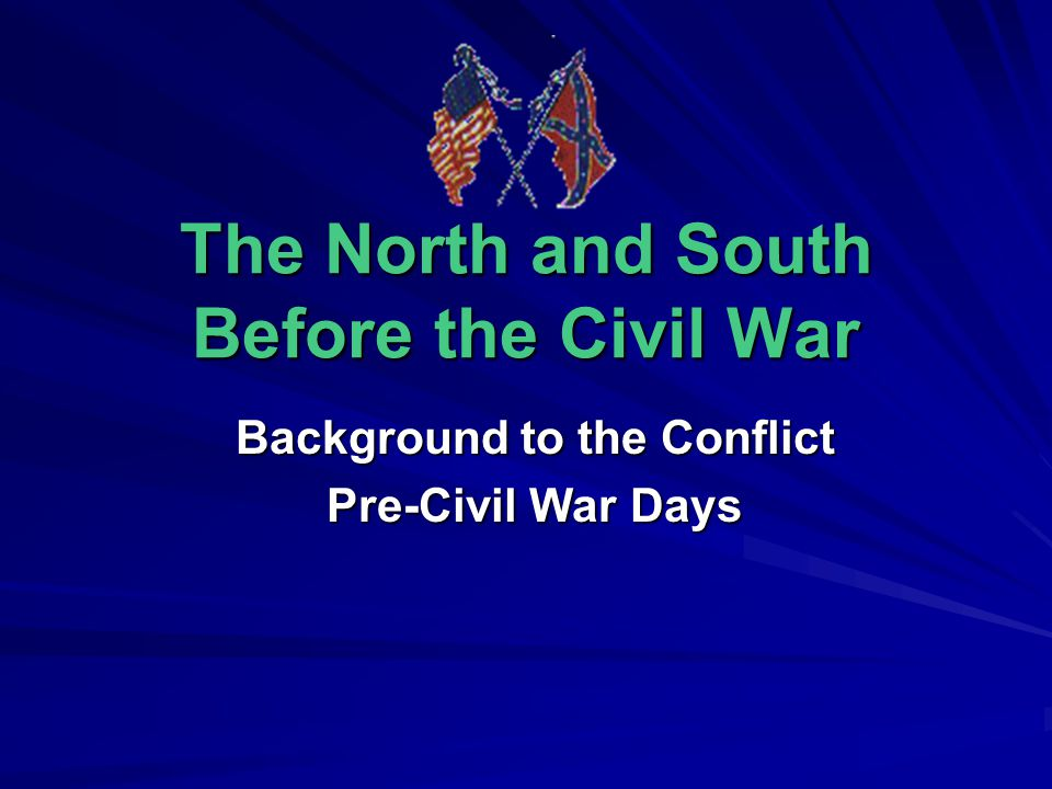pre war tension civil war