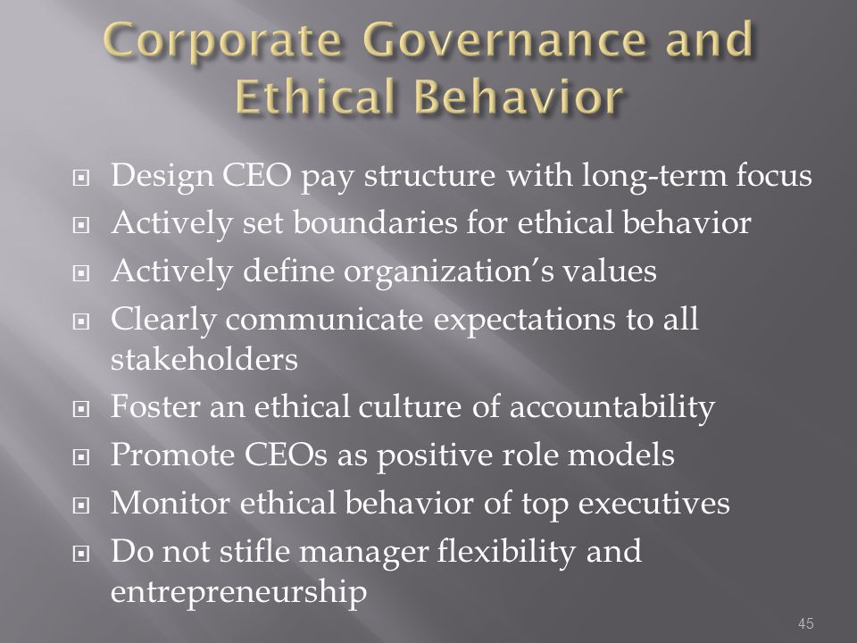 ethical behaviour in managerial context Terms of practical management in organizations □ present  represents a critical context for business ethics □ present the 'triple  having defined business ethics in terms of issues of right and wrong, one might quite nat- urally question.