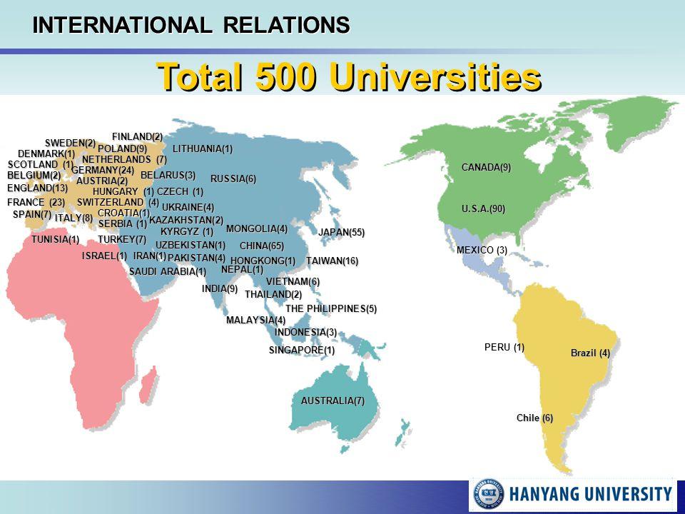 Welcome To Hanyang University Ppt Download - Sweden map universities