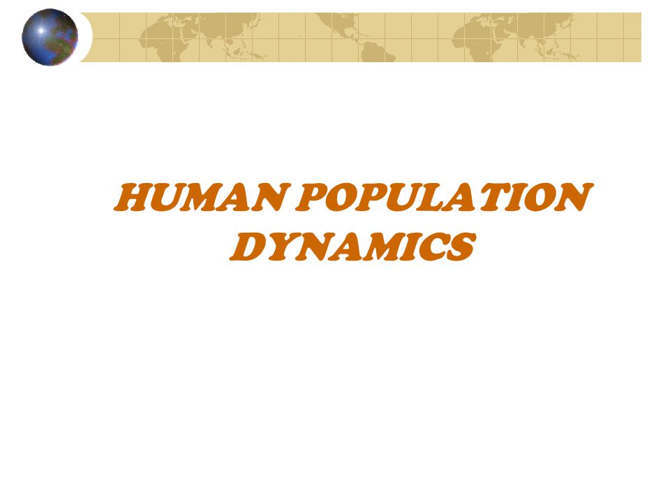 An overview of the human population dynamics of germany