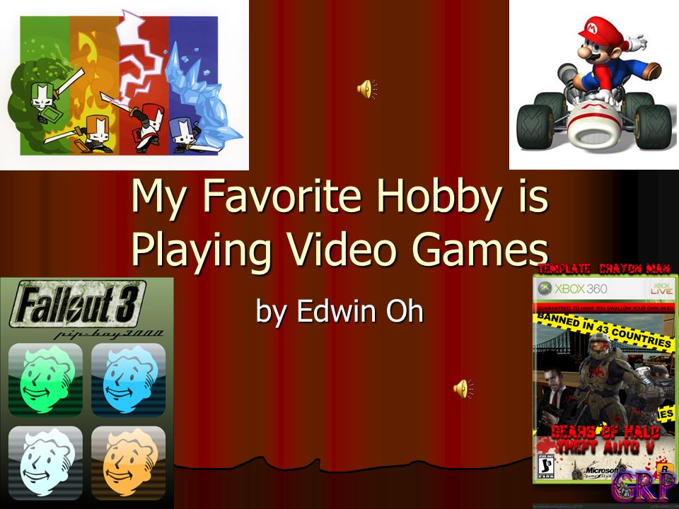 video games as a outstanding hobby essay