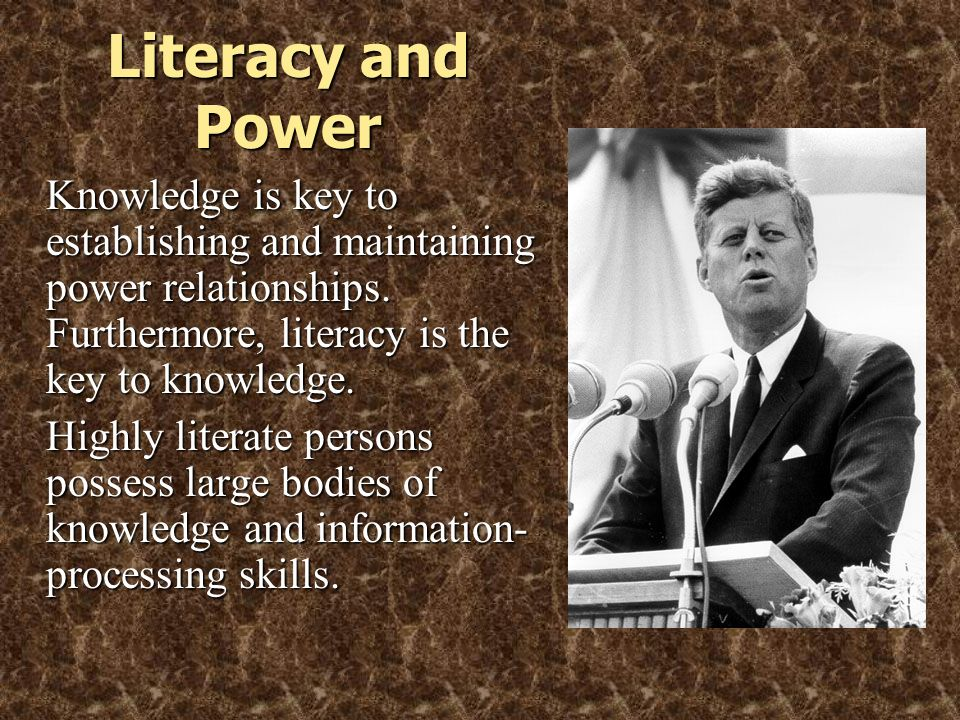 © 2005 William H. DuBay Literacy and Power.
