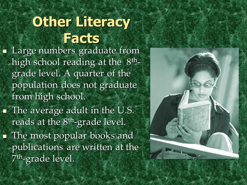 © 2005 William H. DuBay Other Literacy Facts.