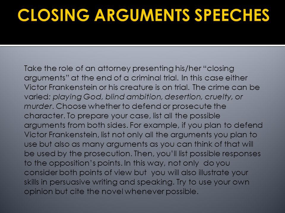 closing arguement