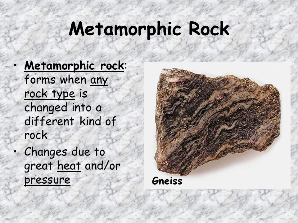 The Metamorphic Rock Marble Was Once What Kind Of Rock