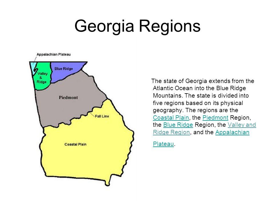 georgia u2019s regions and rivers
