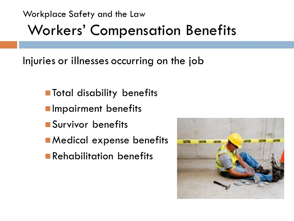 characteristics of workers compensation plans Compensation & benefits  a compensation plan can also be used to attract prospective employees and therefore effective external communication is also important.
